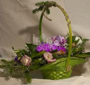 Поздравительная весенняя флористика,  посвященная празднику 8 марта